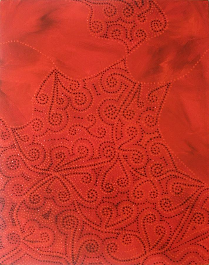 Dots Painting - Tribal Dreams by Sophia Elise