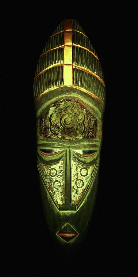 Tribal Mask by David Dehner