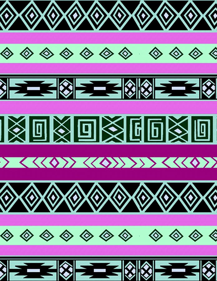 Painting Painting - Tribal Pattern 06 by Aloke Creative Store