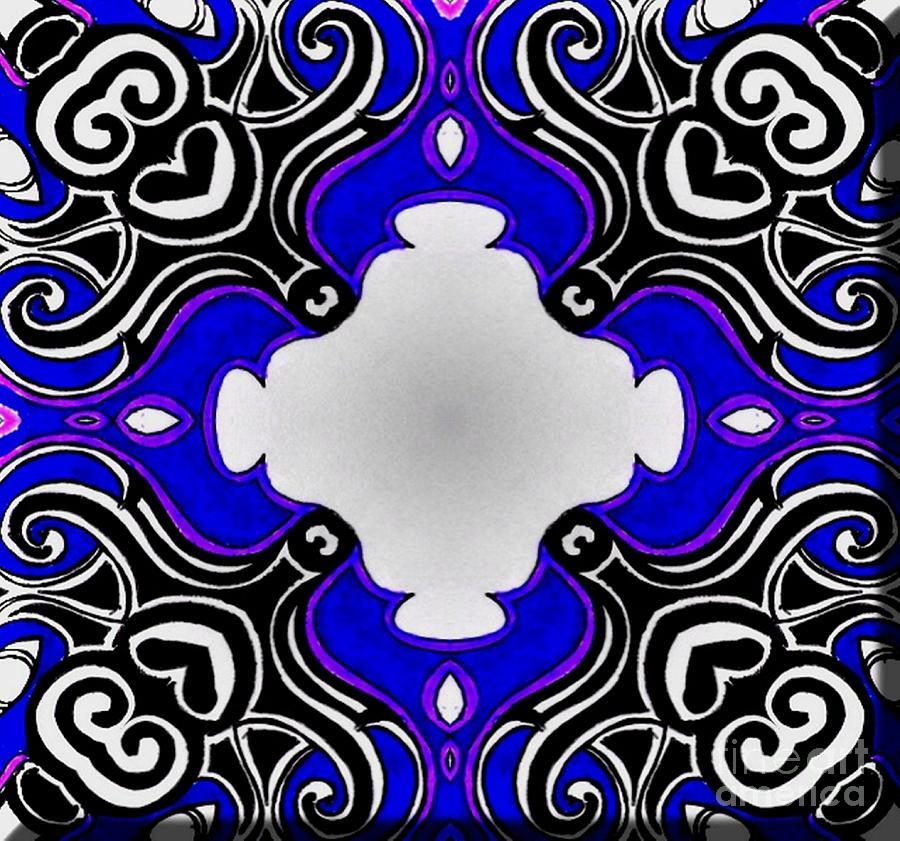 57cc7706e Tribal Blue Art – Daily Motivational Quotes