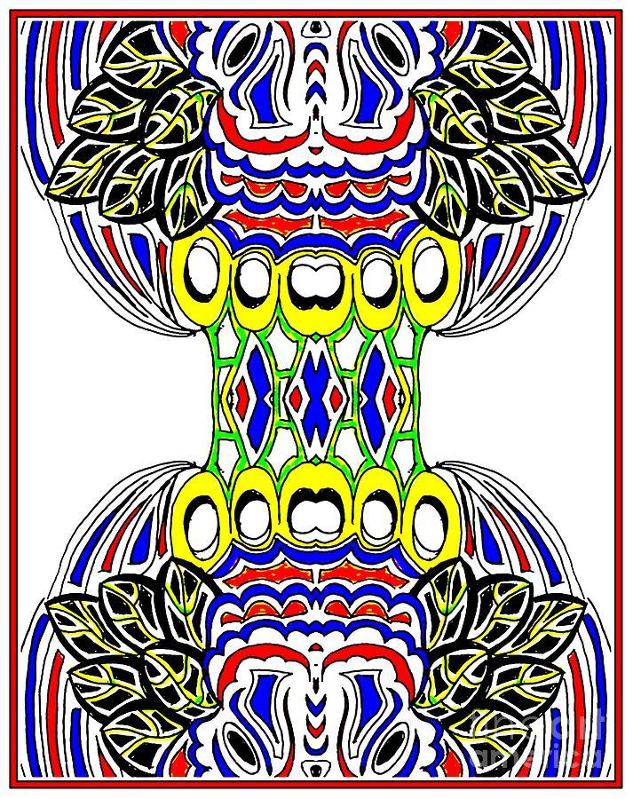 Tribal Rebirth Digital Art by Graham Roberts