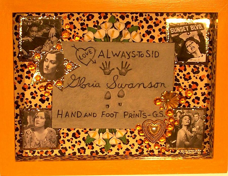 Icons Painting - Tribute to Gloria Swanson by Robert Quijada