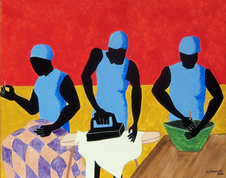 Human Form Painting - Tribute To Jacob Lawrence by Otis L Stanley