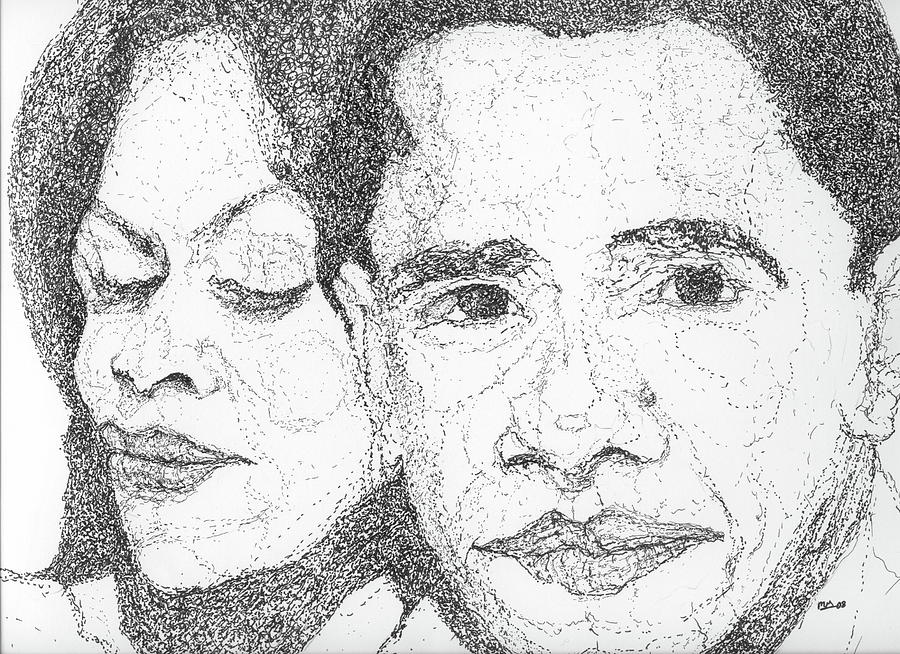 Tribute to Michelle and Barack Obama by Michelle Gilmore