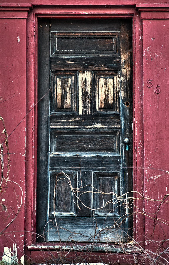 Doors Photograph - Trick Or Treat by Ross Powell