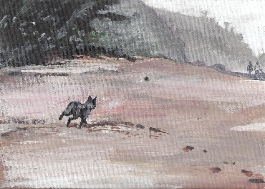 Landscape Painting - Trigger by Sarah Lynch