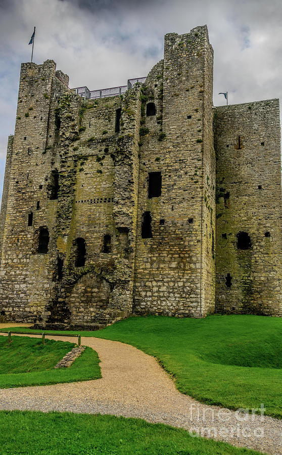 Trim Castle Keep by Elvis Vaughn