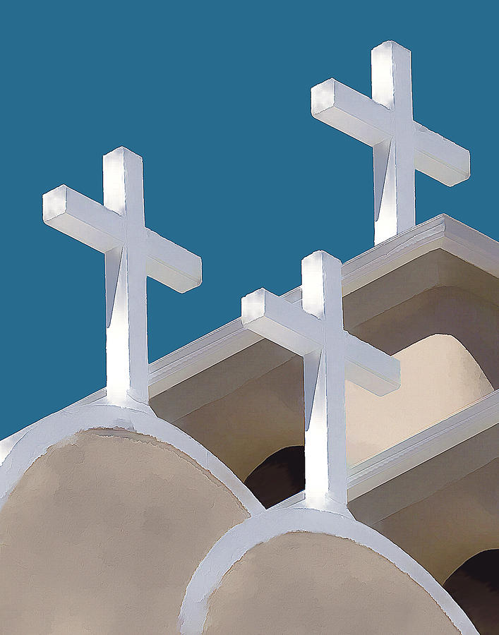 Church Photograph - Trinity by Carolyn Marcotte