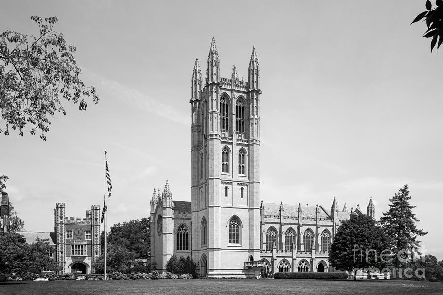 Hartford Photograph - Trinity College Chapel by University Icons