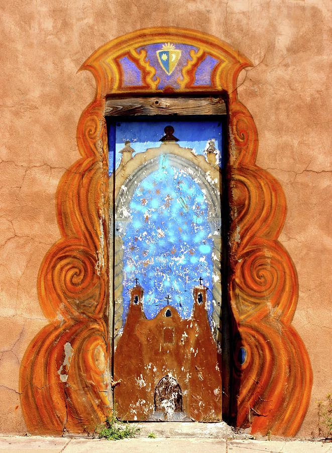 Door Photograph - Trinity Door In Santa Fe by Janice Aponte & Trinity Door In Santa Fe Photograph by Janice Aponte pezcame.com