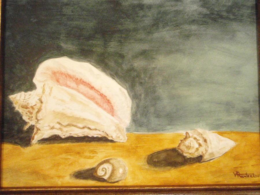 Seascape Painting - Trinity by Robby  Entrekin