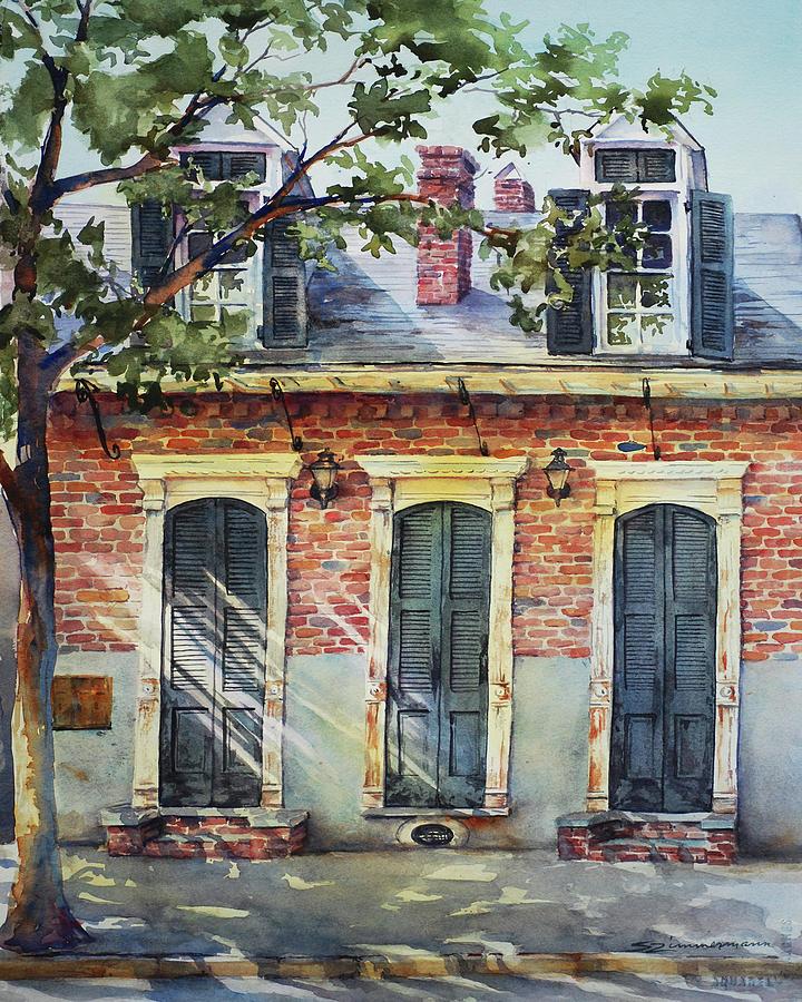 Triple Doors by Sue Zimmermann