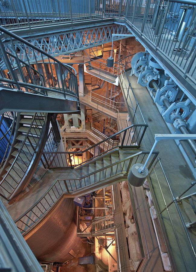 Triple Steam Stairs 2 by Rick Hartigan