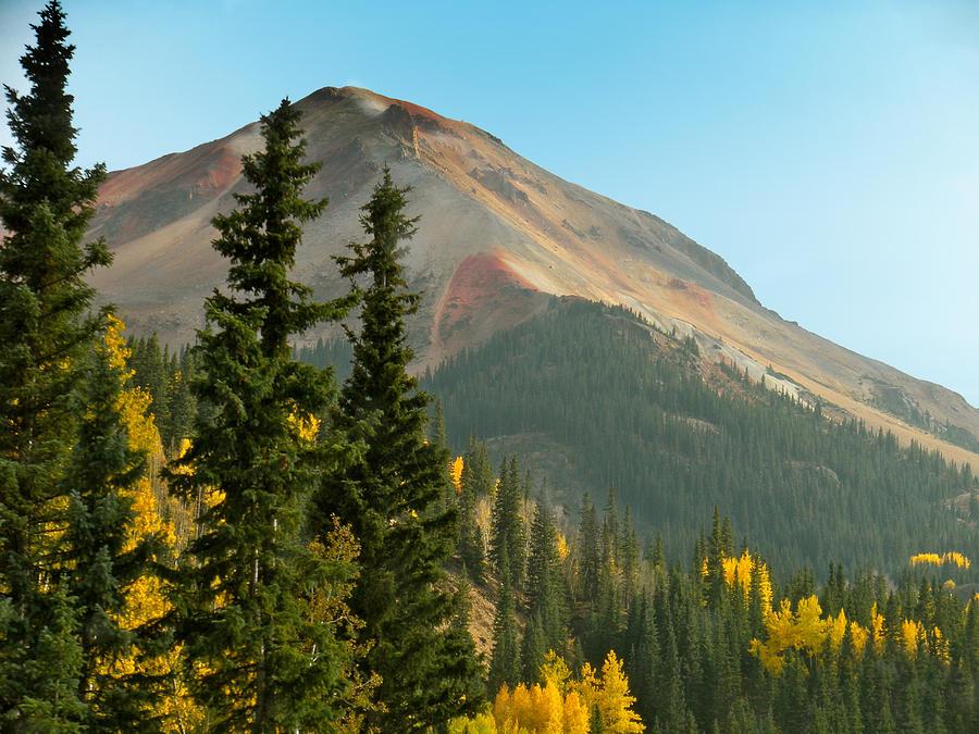 Nature Photograph - Triple Tree Peak by Alaric Balibrera