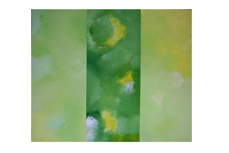 Triptych 2 Painting by Leo  De Freyne