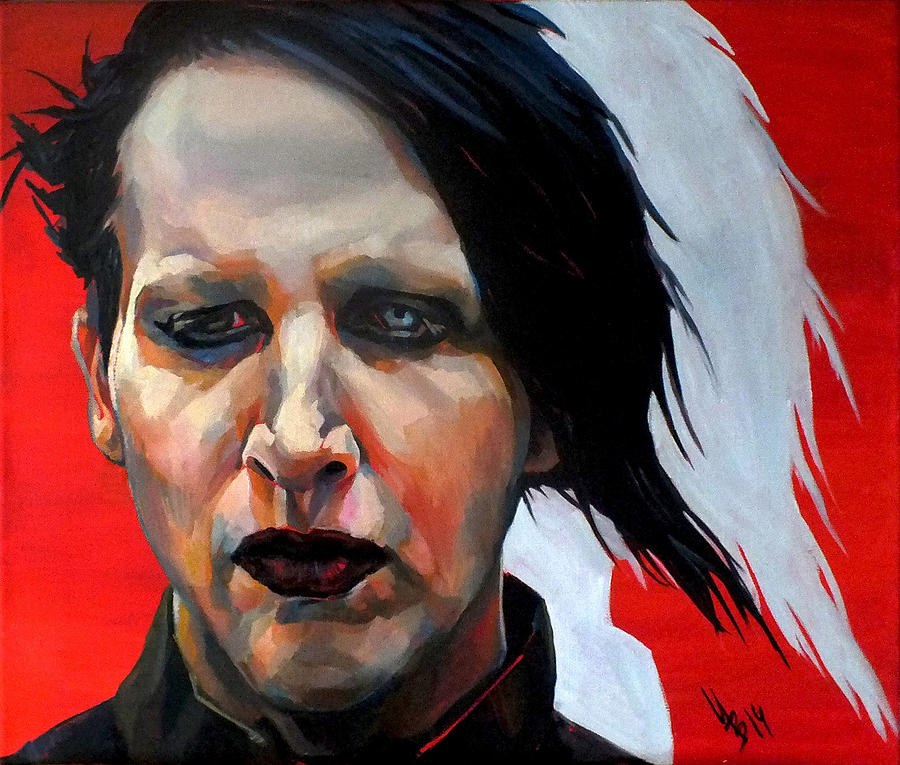 Marilyn Manson Paintings For Sale