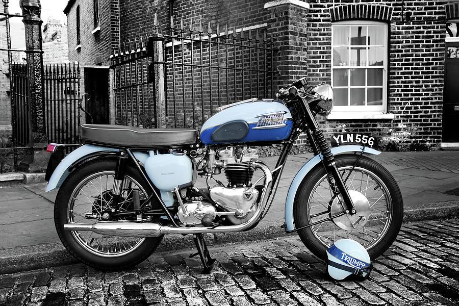 Triumph Bonneville T120 1960 Photograph By Mark Rogan