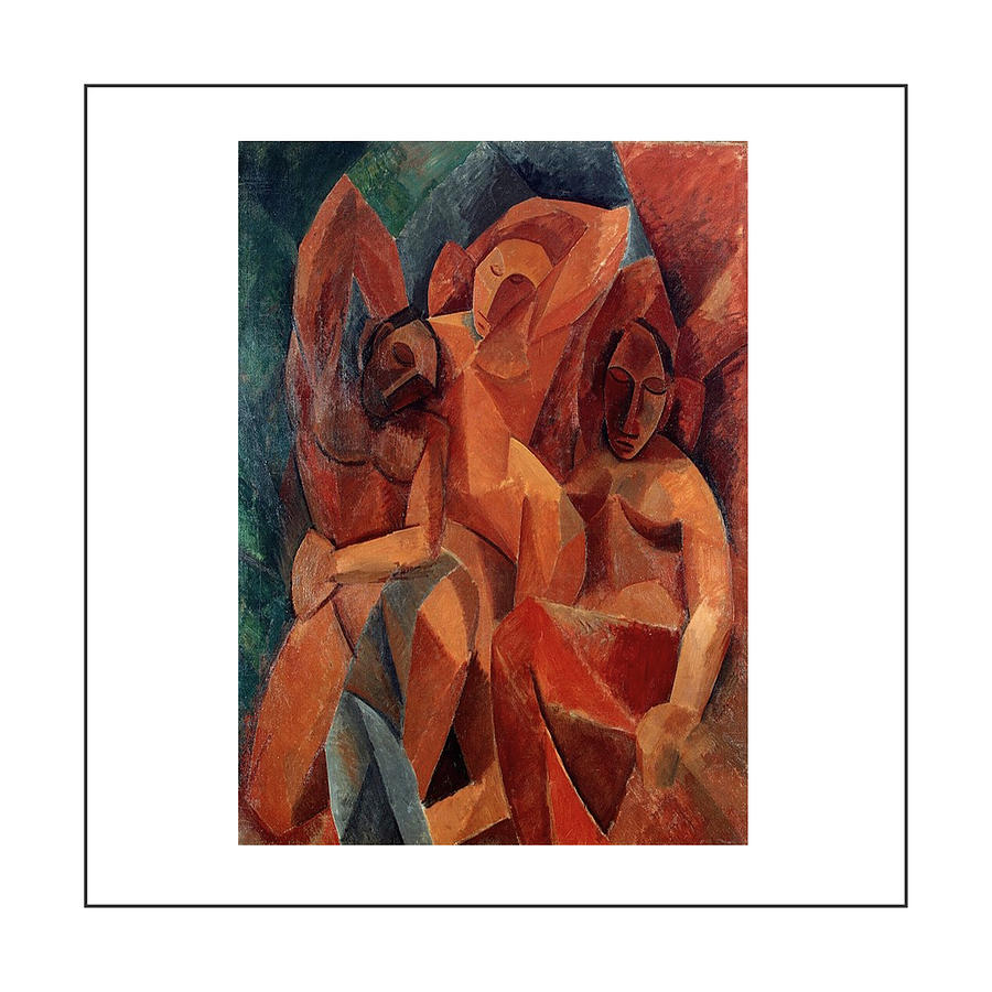 Pablo Picasso Painting - Trois femmes Three Women  by Pablo Picasso