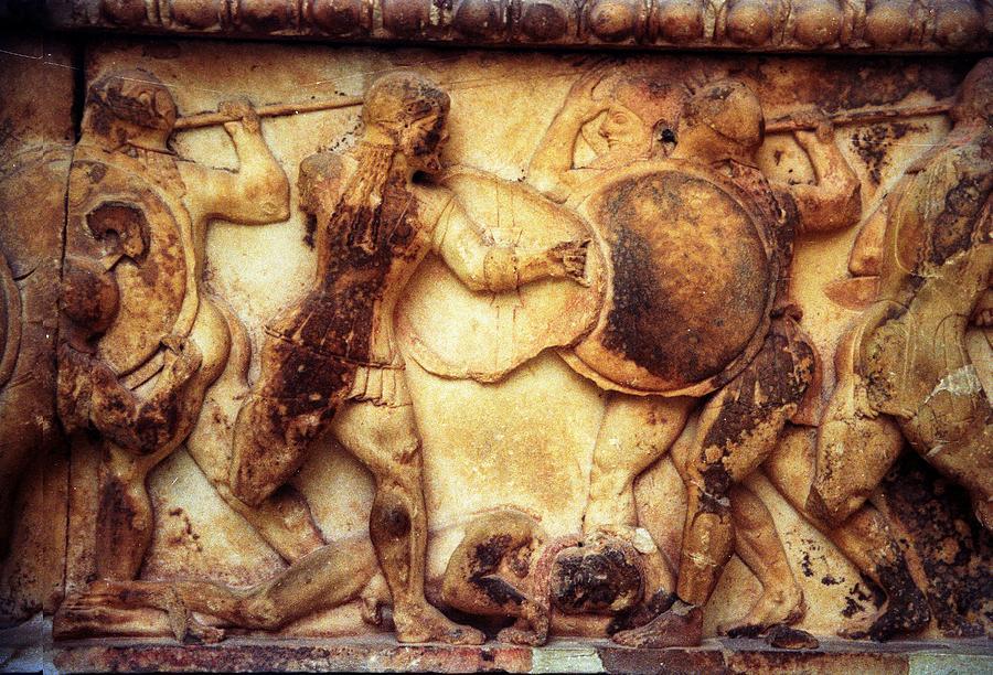 Delphic Photograph - Trojan War by Andonis Katanos