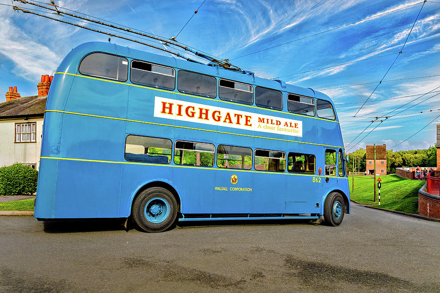 Black Country Photograph - Trolleybus 862 by Blitz Photos