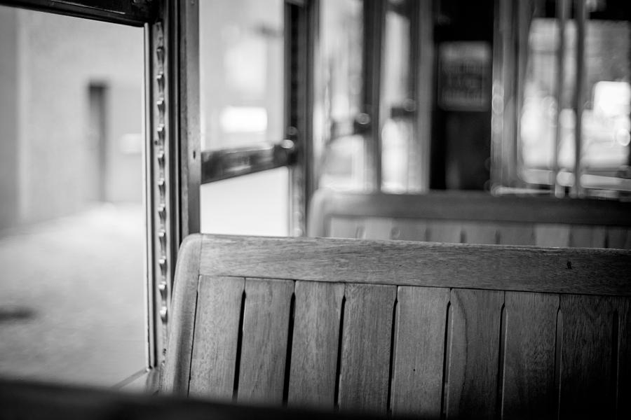 Big Easy Photograph - Trolly Seat by Giovanni Arroyo