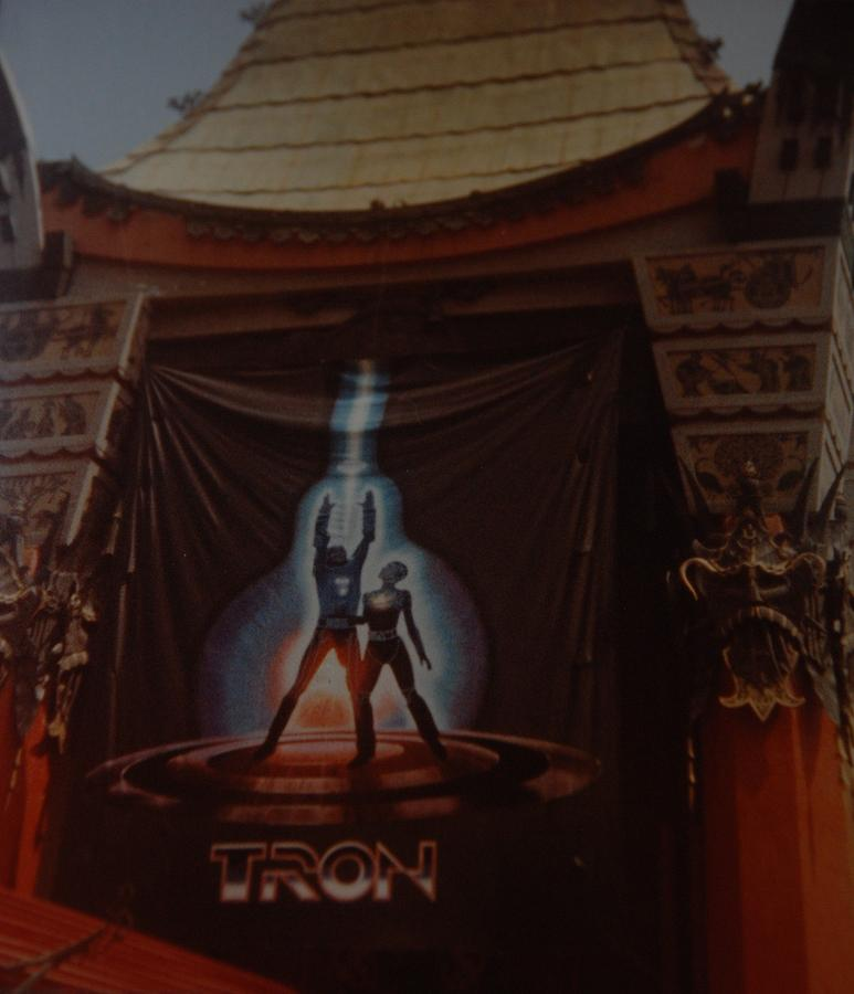 Grumanns Chinese Theater Photograph - Tron  by Rob Hans