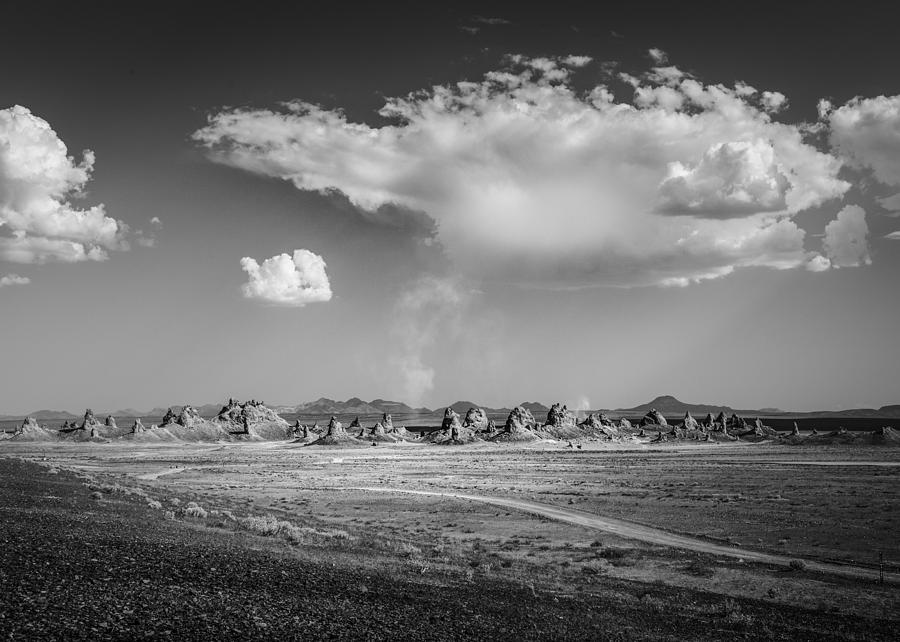 Trona Pinnacles Road  by Dusty Wynne