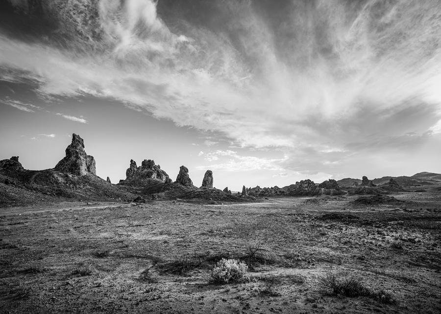 Trona Pinnacles Sky by Dusty Wynne