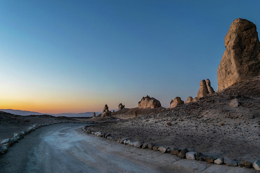 Trona Pinnacles Sunset by Rick J Brown