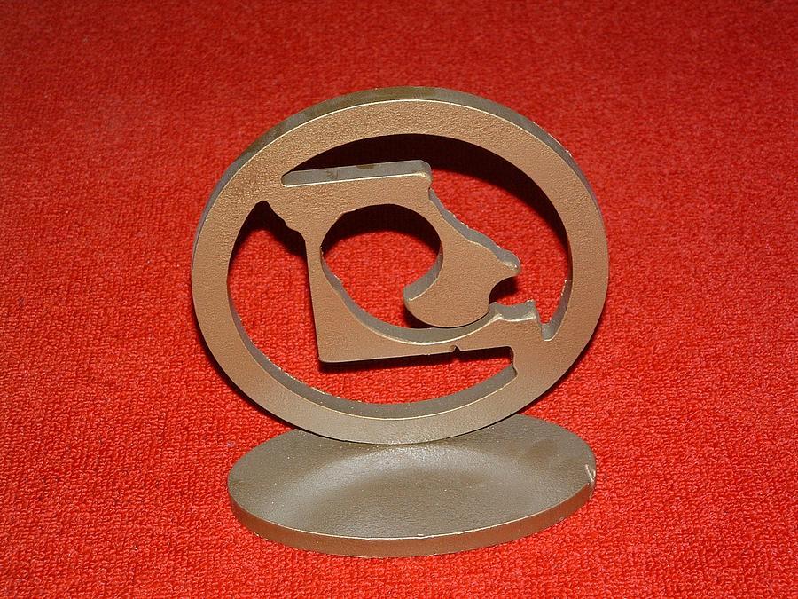 Steel Sculpture - Trophy by Buzz Ferrell