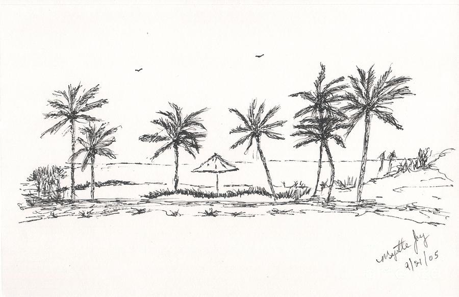 Tropical Beach II by MYRTLE JOY