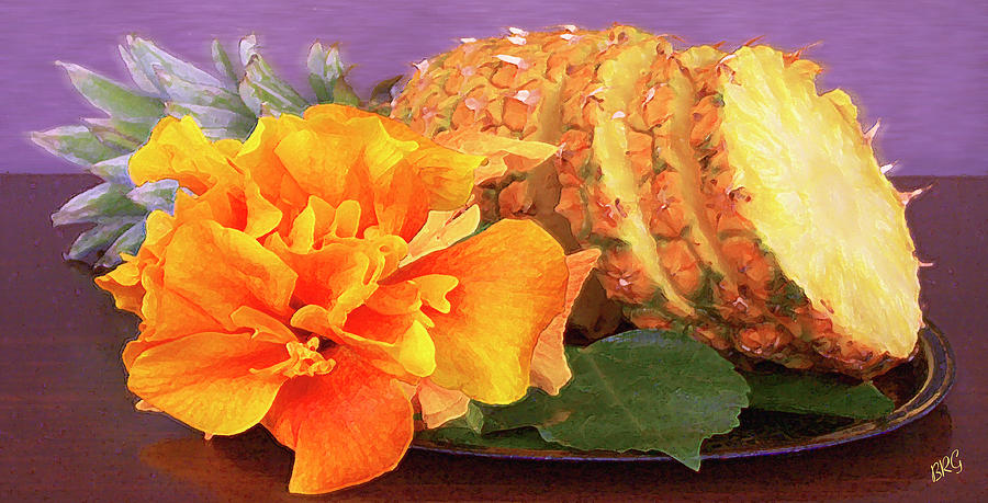 Tropical Photograph - Tropical Delight Still Life by Ben and Raisa Gertsberg