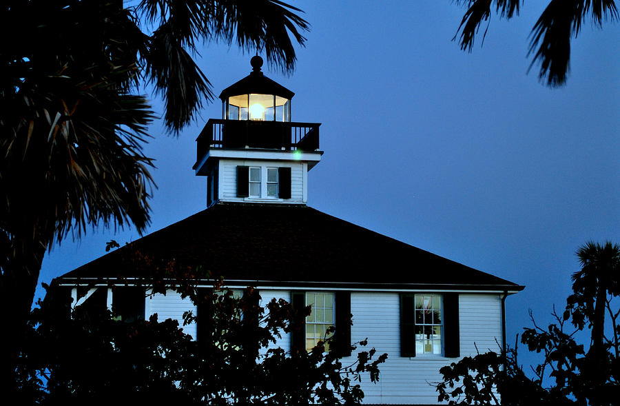 Lighthouse Photograph - Tropical Evening by Steven Scott