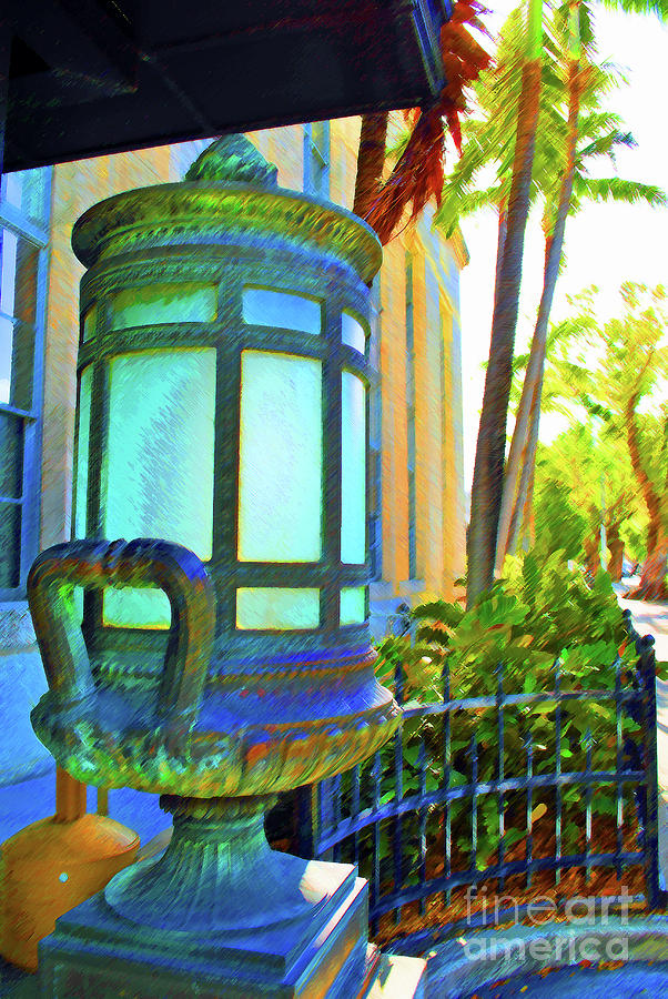 Key West Photograph - Tropical Federal by Jost Houk