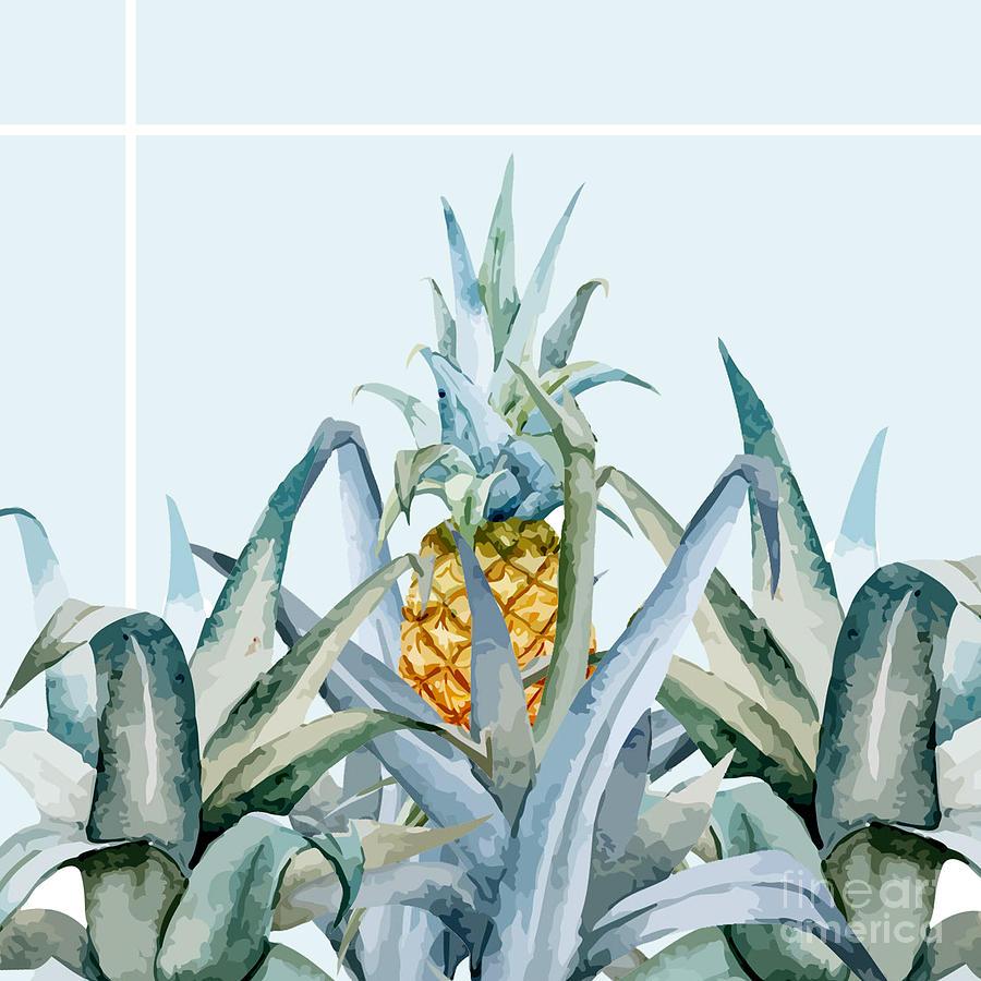 Summer Painting - Tropical Feeling  by Mark Ashkenazi