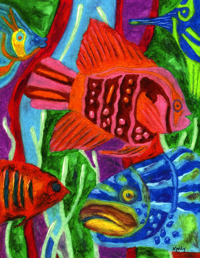 Tropical Fish by Molly Williams