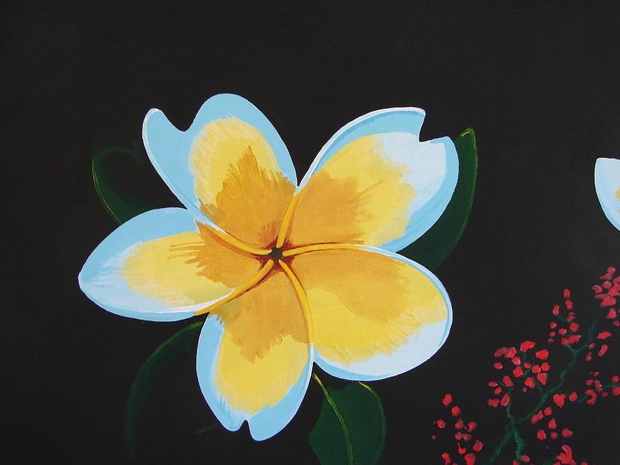 Tropical Flower Painting - Tropical Flower by David Ellis