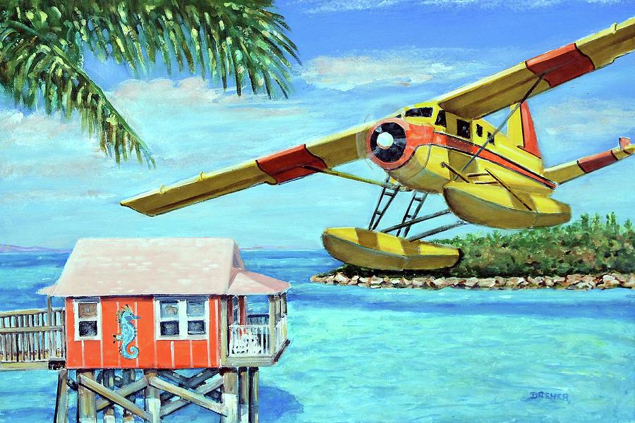 Ocean Painting - Tropical Getaway by Chris Dreher