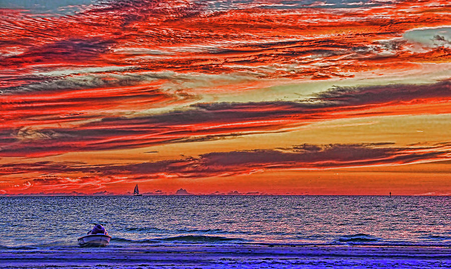 Gulf Of Mexico Photograph - Tropical Gulf Nights by HH Photography of Florida