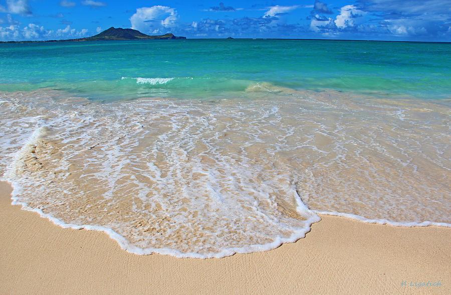 Hawaii Photograph - Tropical Hawaiian Shore by Kerri Ligatich