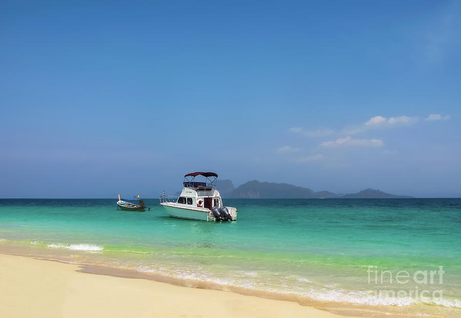 Tropical Holiday Photograph - Tropical Holiday by Adrian Evans