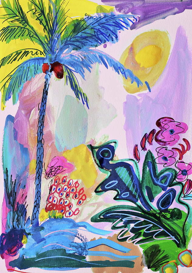 Painting Painting - Tropical Moods by Amara Dacer