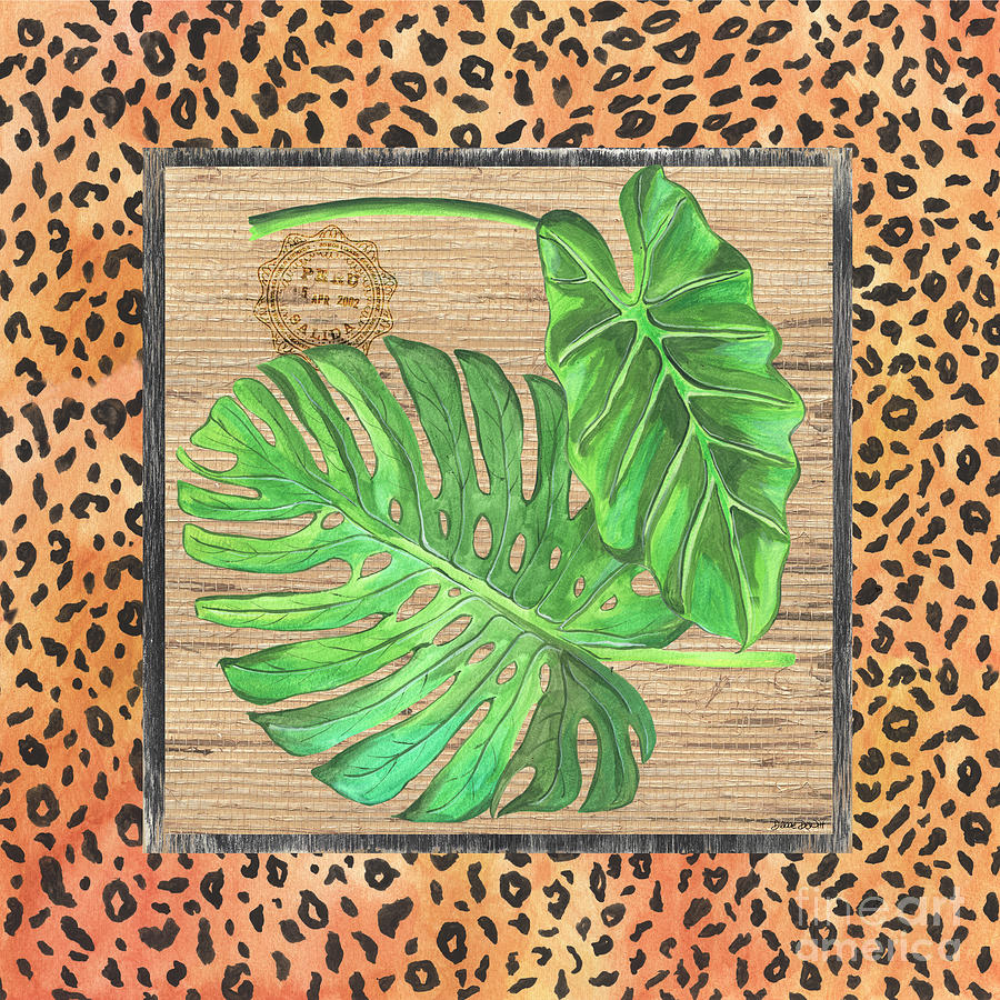 Palm Painting - Tropical Palms 2 by Debbie DeWitt