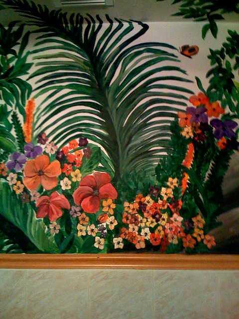 Tropical Retreat  Painting by Lisa Ruggiero