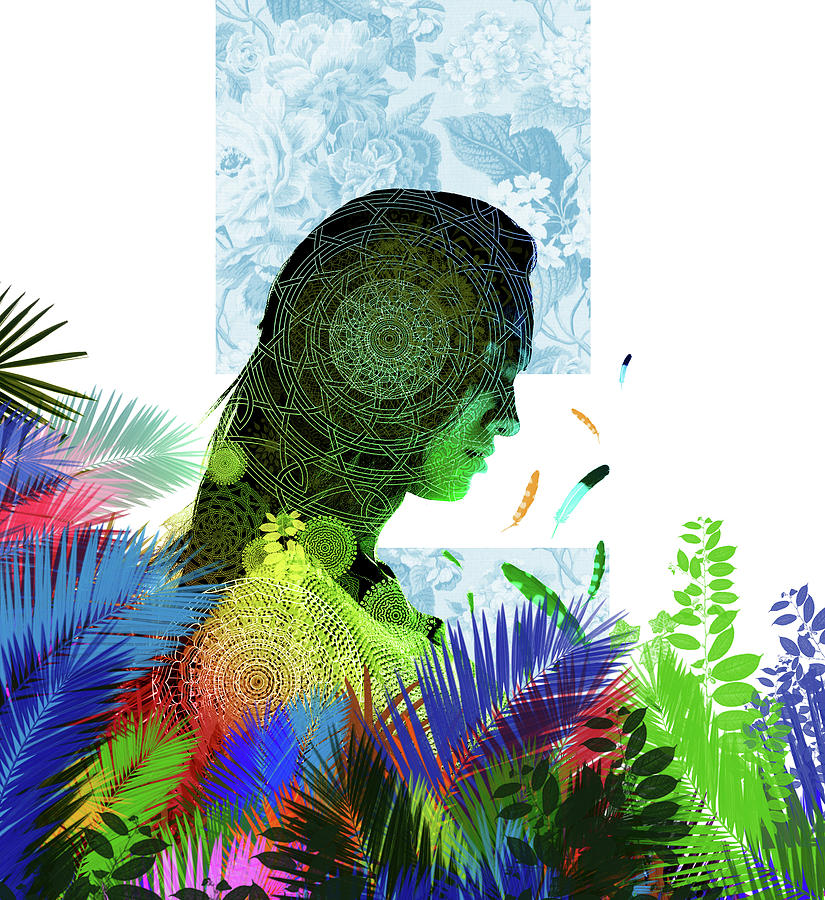 Tropical Spirit Digital Art