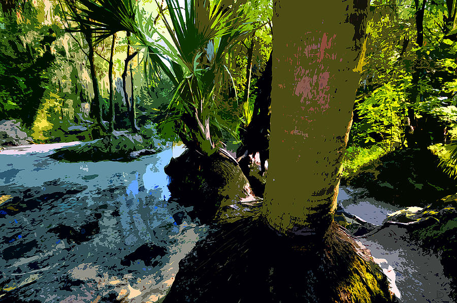 Tropical Painting - Tropical Spring by David Lee Thompson