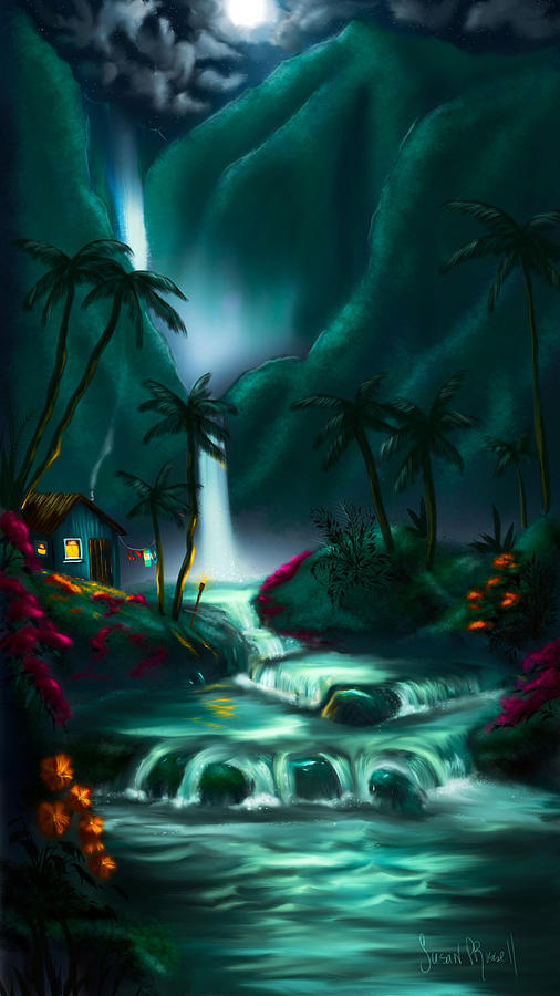 Digital Digital Art - Tropical Vacation  by Susan  Rossell