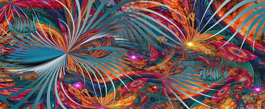 Space Digital Art - Tropico...nashville by Phil Sadler