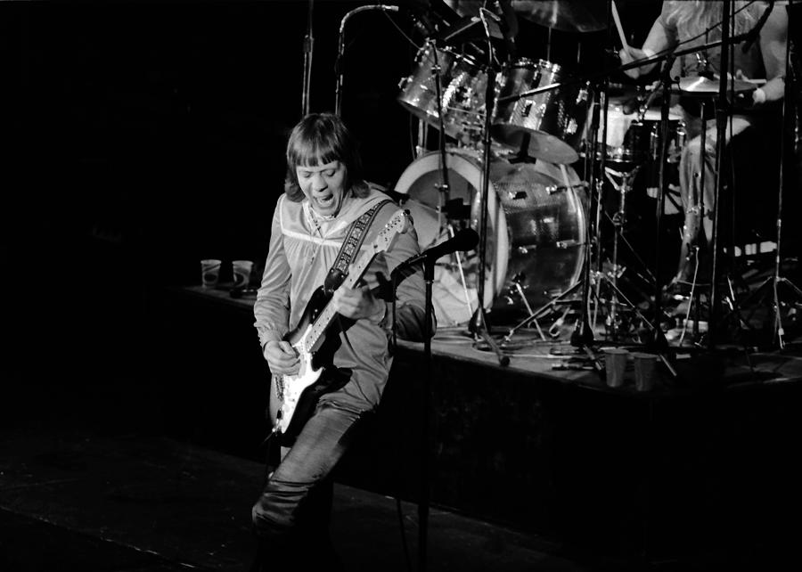 Robin Trower Photograph - Trower At Winterland by Ben Upham