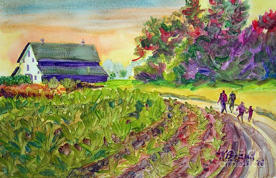 Paintings Painting - Troys Memories by Kathy Braud
